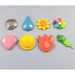 Set de 8 Badges de Kanto