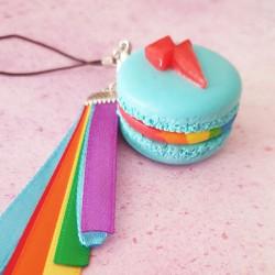 Strap Macaron Rainbow Dash
