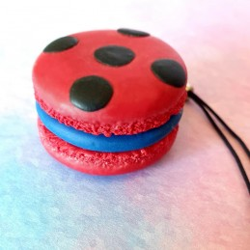 Strap Macaron LadyBug